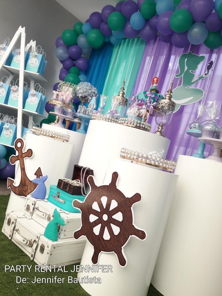 Decoracion De Fiestas La Sirenita Lima