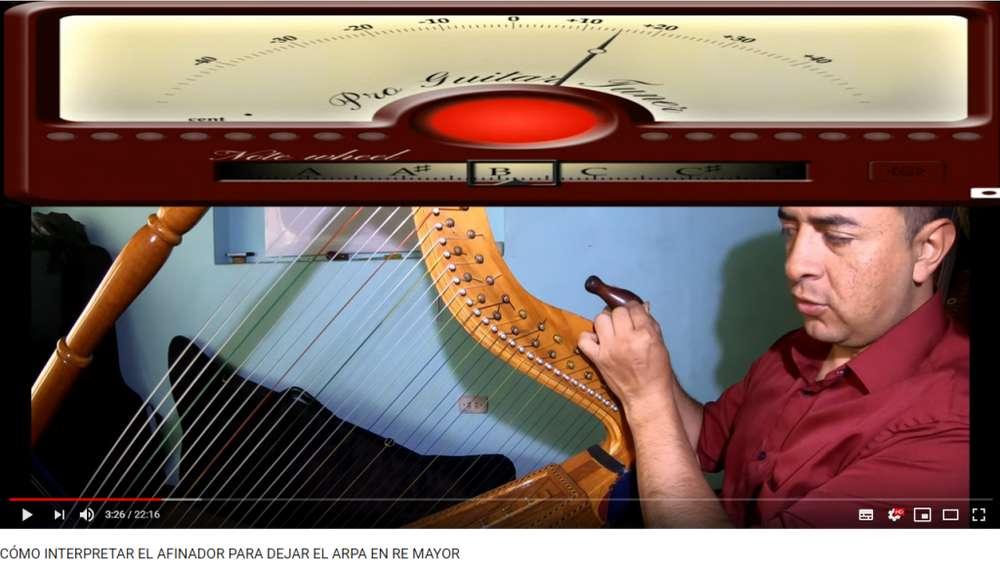 GRATIS Academia, Clases de arpa, Música llanera en ARPATUTORIAL (PUNTO) COM