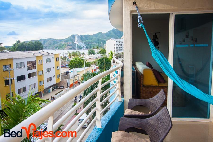 Apartamento Rodadero Brisa Marina bedviajes