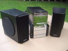 Minicomponente, Equipo de sonido Panasonic Vintage