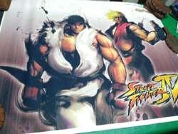 Poster Street Fighter de 60 X 90