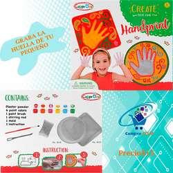 Juego creativo grabador de mano de tu pequeño para niños y bebes