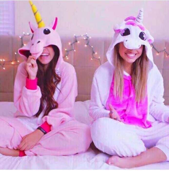 pijama termica estilo unicornio