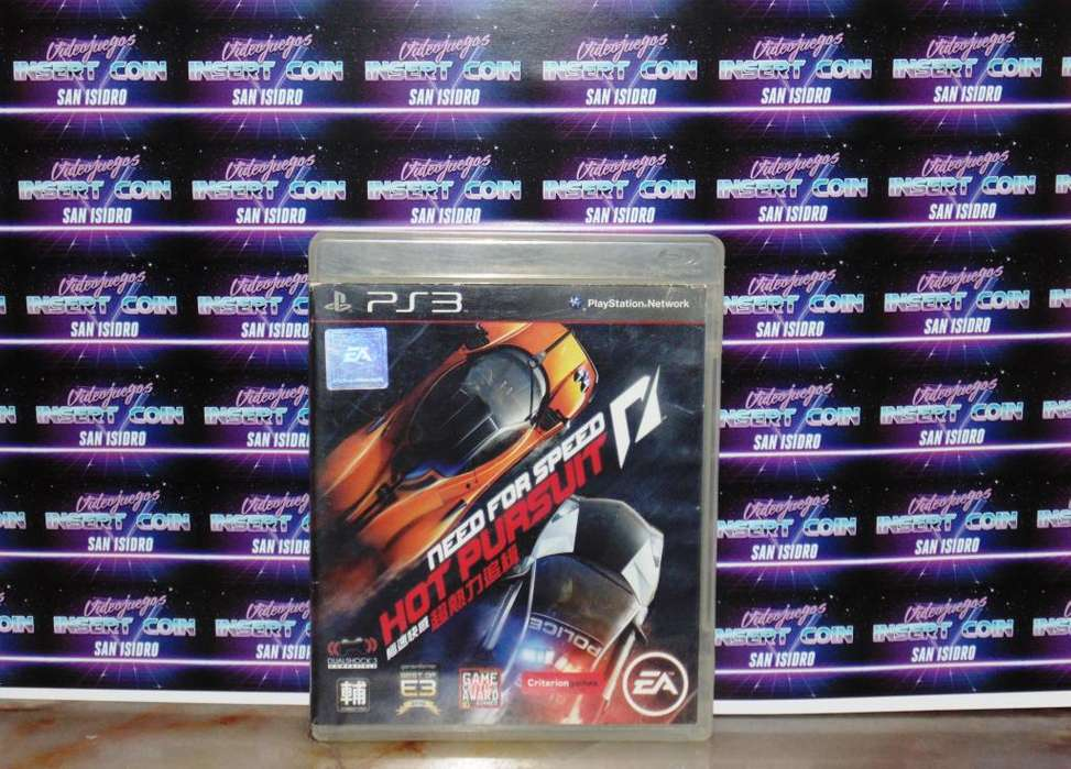 Need for Speed hot pursuit PS3 Juego <strong>play</strong> Station 3
