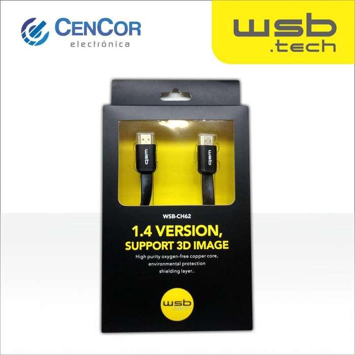 Cable HDMI WSB.tech! CenCor Electrónica