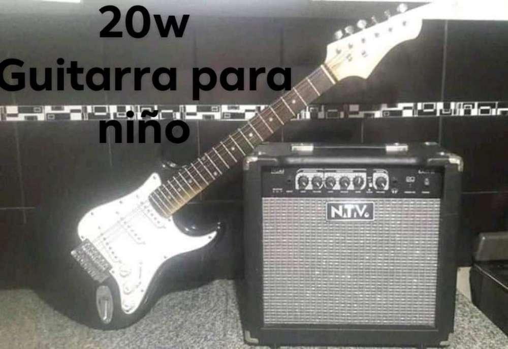 Stratocaster Kids Ampli 20w
