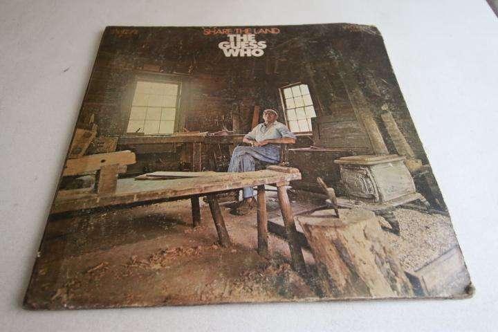 the guess who share the land LP vinilo edición perú incluye insert rock 60s