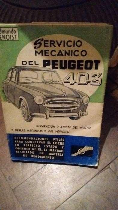 Manual Peugeot 403