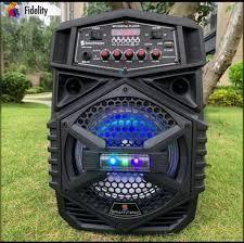 cabina de 8 pulgadas mas microfono