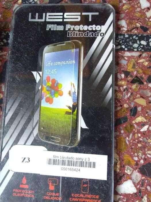 Glass Vidrio Templado Sony Z3