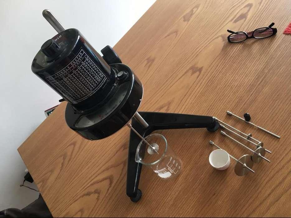 Vendo Viscosimetro Brokfield Rvt