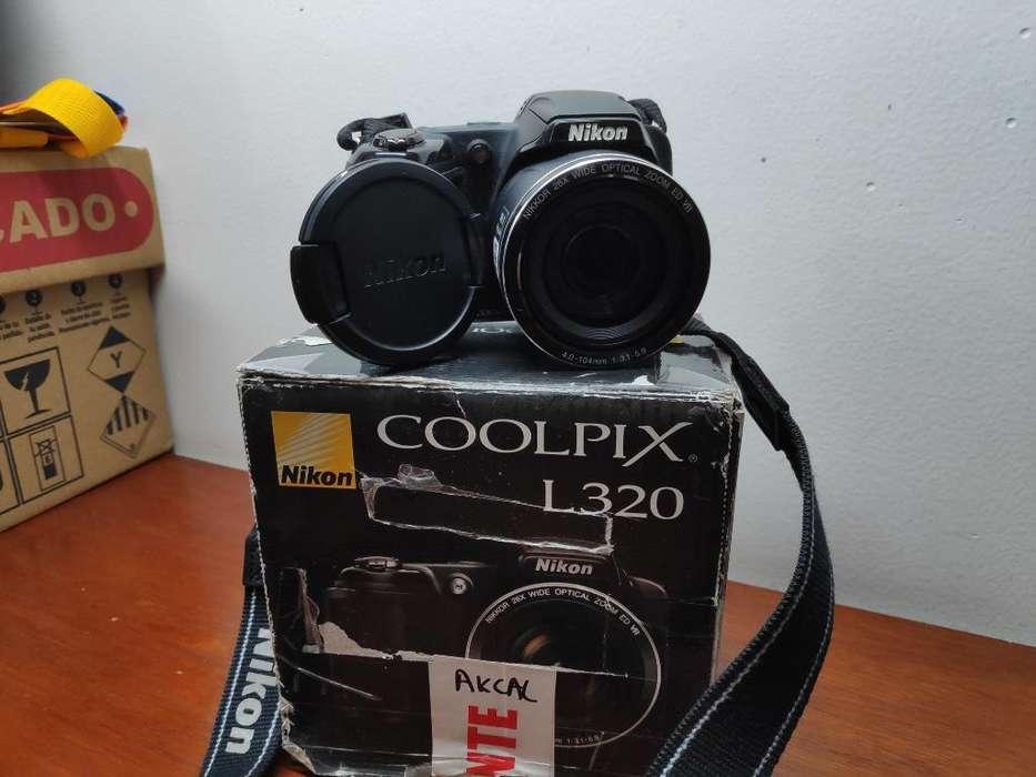 Camara Nikon Coolpix L320