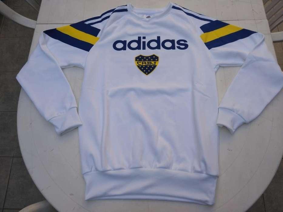 Buzo Boca Juniors Retro Adidas