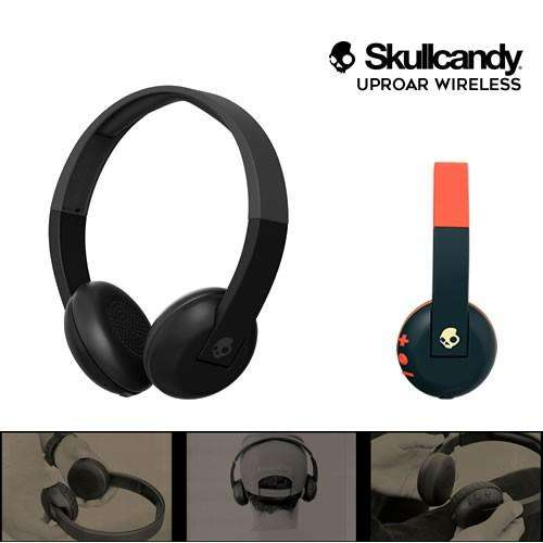 AUDÍFONOS SKULLCANDY UPROAR WIRELESS <strong>bluetooth</strong> INALÁMBRICOS