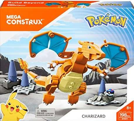 Pokemón Charizard - Mega Construx