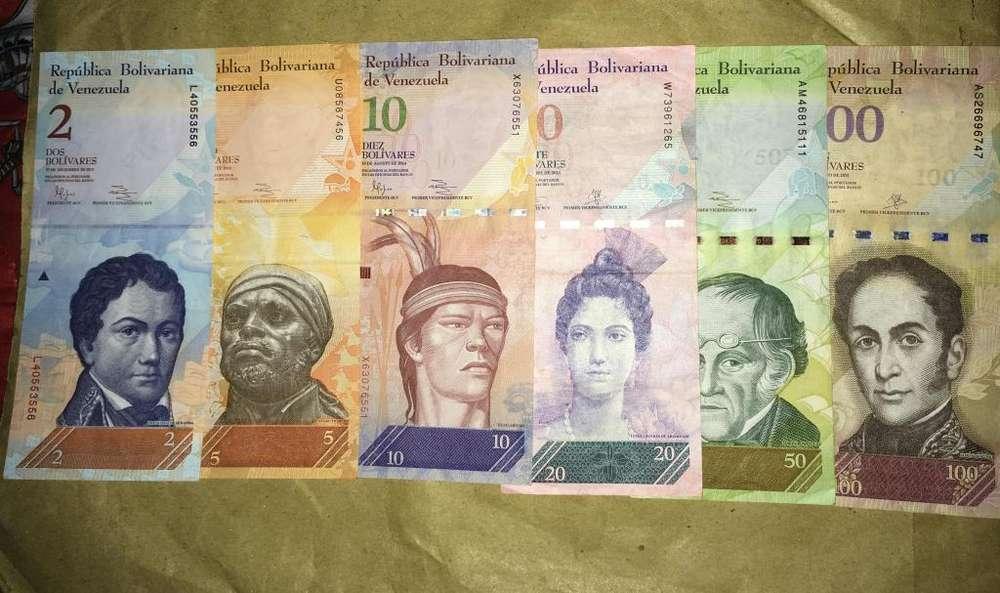 Colección de bolívares