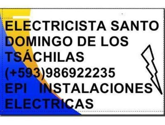 Electricista Santo Domingo de los Tsachilas593986922235