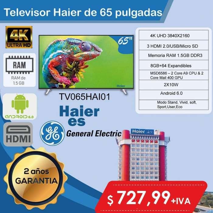 <strong>televisor</strong>ES HAIER 55PLG- 65PLG- 75PLG SMART 4K UHD PRECIOS ESPECIALES-SMART QUITO