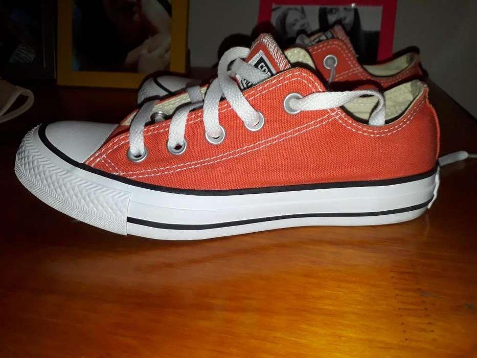 Vendo zapatillas Converse All Star naranjas