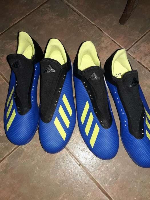 2p Botines Adidas X Talle 44 Eur 43 Arg