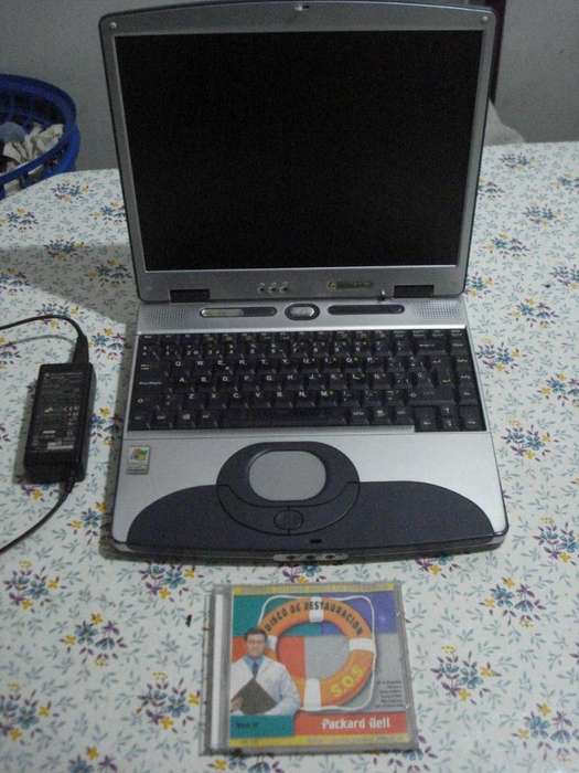 Notebook Packard Bell Amd Athlon 1400 Excelente estado