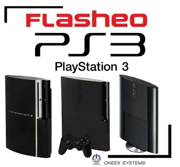 Flasheo Playstation 3 Ps3 en 30min