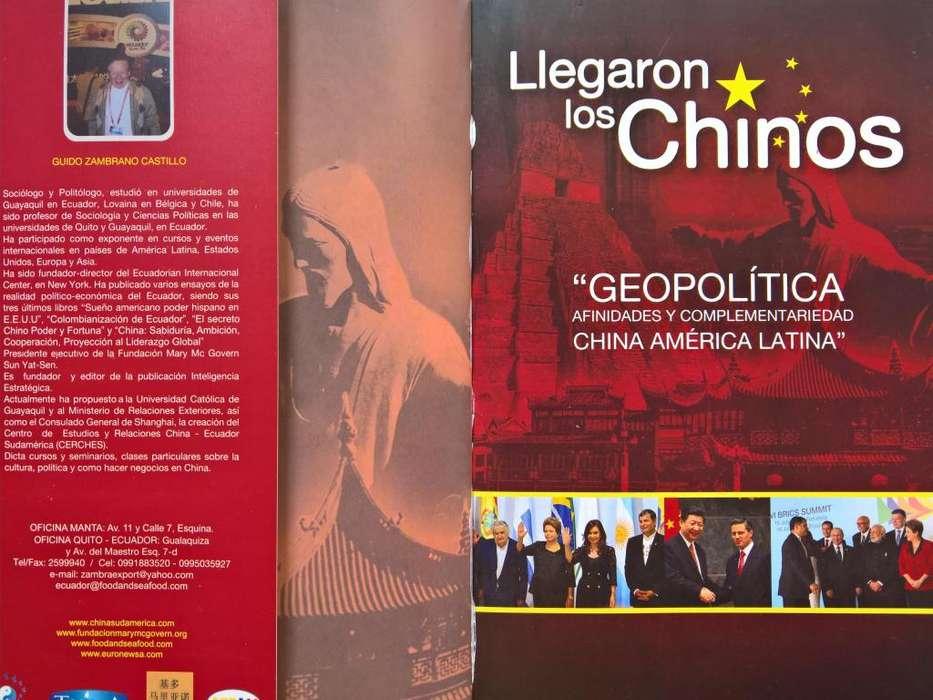 LIBRO LLEGARON LOS CHINOS a la venta ⪻omocion especial.