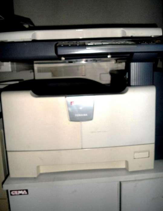 Fotocopiadora Toshiba bajisimo costo x copias con conectividad a pC