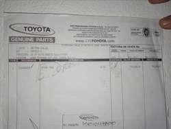 Bomper Trasero Toyota
