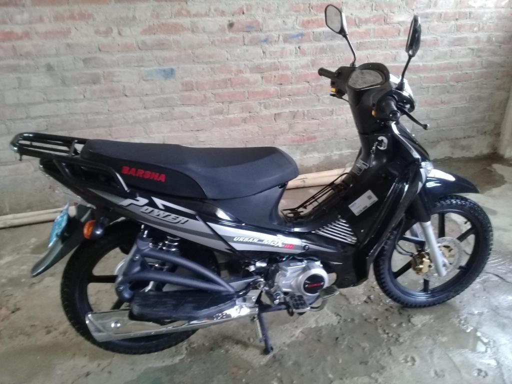 Vendo moto lineal Semi nueva