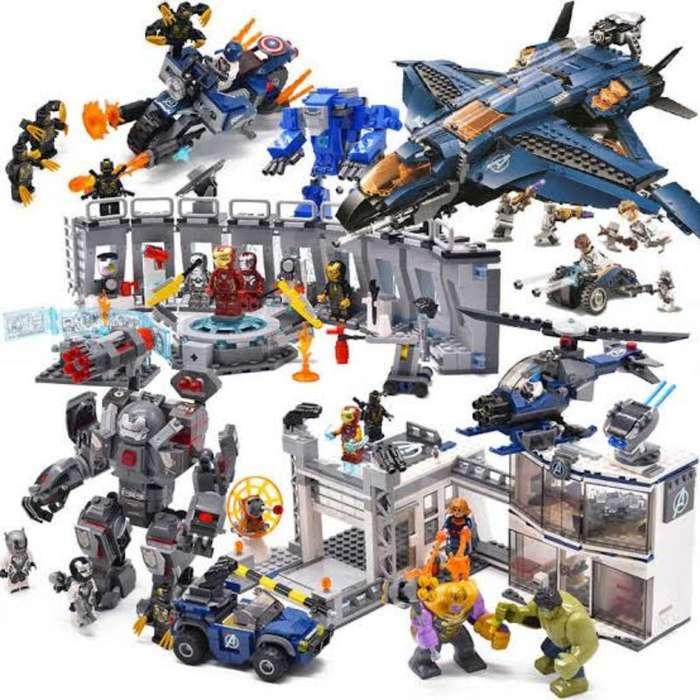 Lego Bela Avengers Endgame