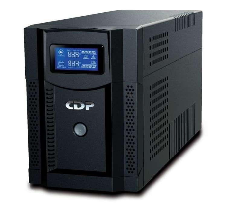 UPS CDP UPRS2008 INTELIGENTE CON REGULADOR 2000VA 1400W 120V 8 TOMAS CON LCD
