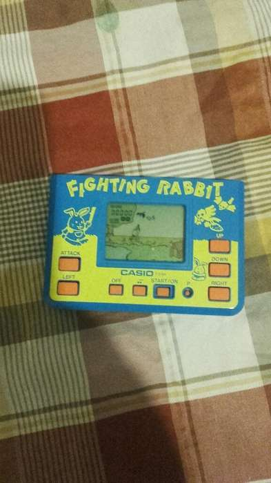 Casio Lcd Fighting Rabbit Cg-94 Juego de