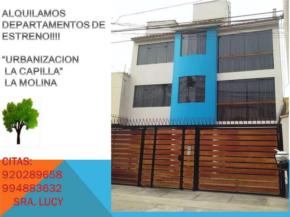 Alquiler de dpto. de dos dormitorios, Ur. La capilla, La Molina