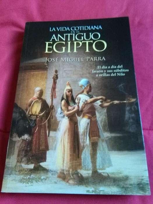 La Vida Cotidiana en El Antiguo Egipto . Jose Miguel Parra . El Ateneo 2016 . libro impecable
