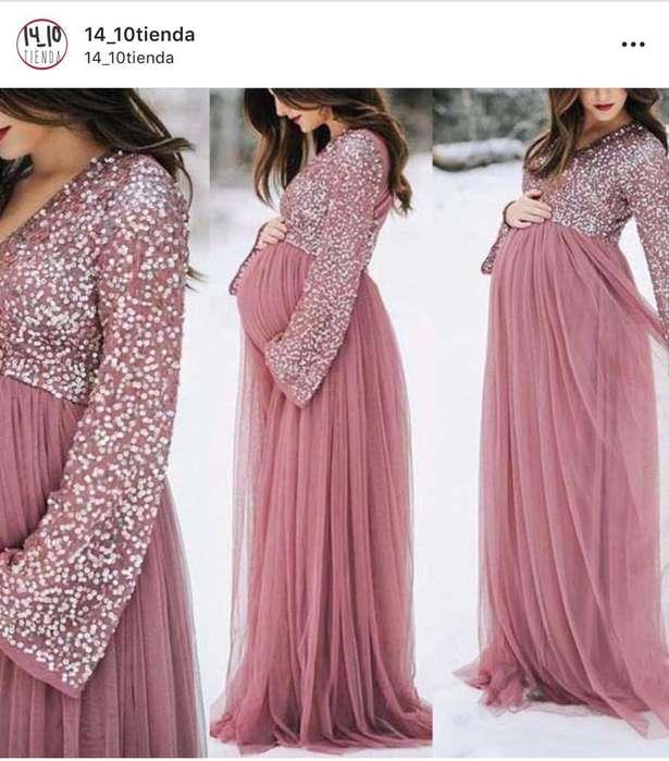 Vestido Materno