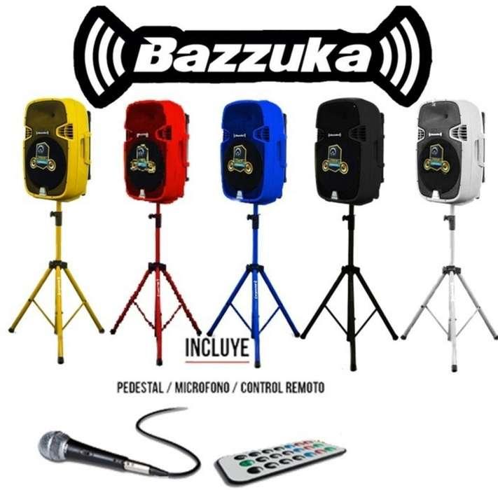 Parlante Bazzuka Activo 15 20000wats