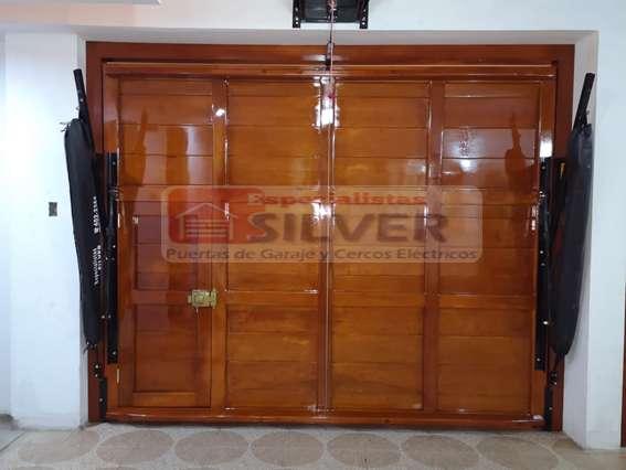 Puertas levadizas, seccionales, cercos eléctricos servicio técnico 976850767