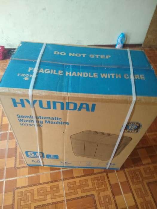 Nueva Lavadora Hiunday 6kg