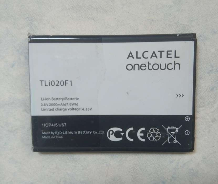 <strong>bateria</strong> de Alcatel Onetouch