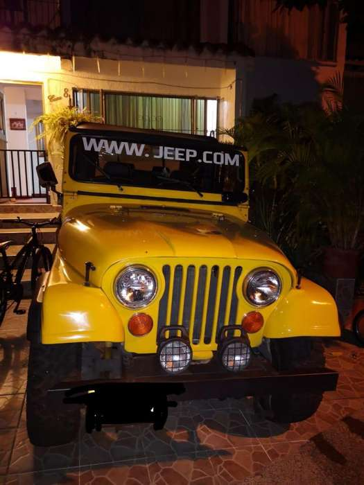 <strong>jeep</strong> Willys 1978 - 100000 km