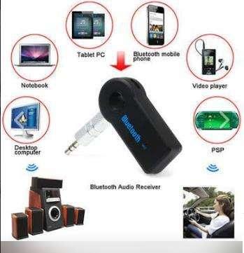 Receptor Audio Bluetooth 3.0 Manoslibres Con Micrófono Carro