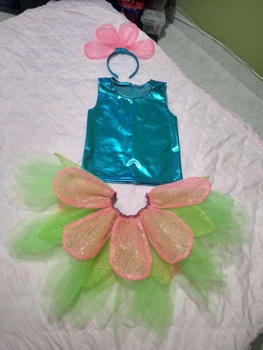 Disfraz de Adita para Niña 6 - 7 Añitos