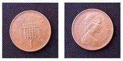 Lote x3 monedas INDONESIA, MOLDAVIA, UNITED KINGDOM 70