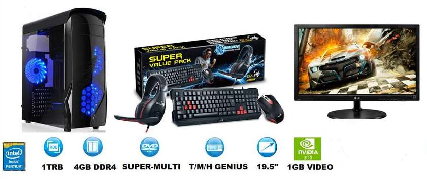 Computador Escritorio Pc Tipo Gamer Promocion envios gratis
