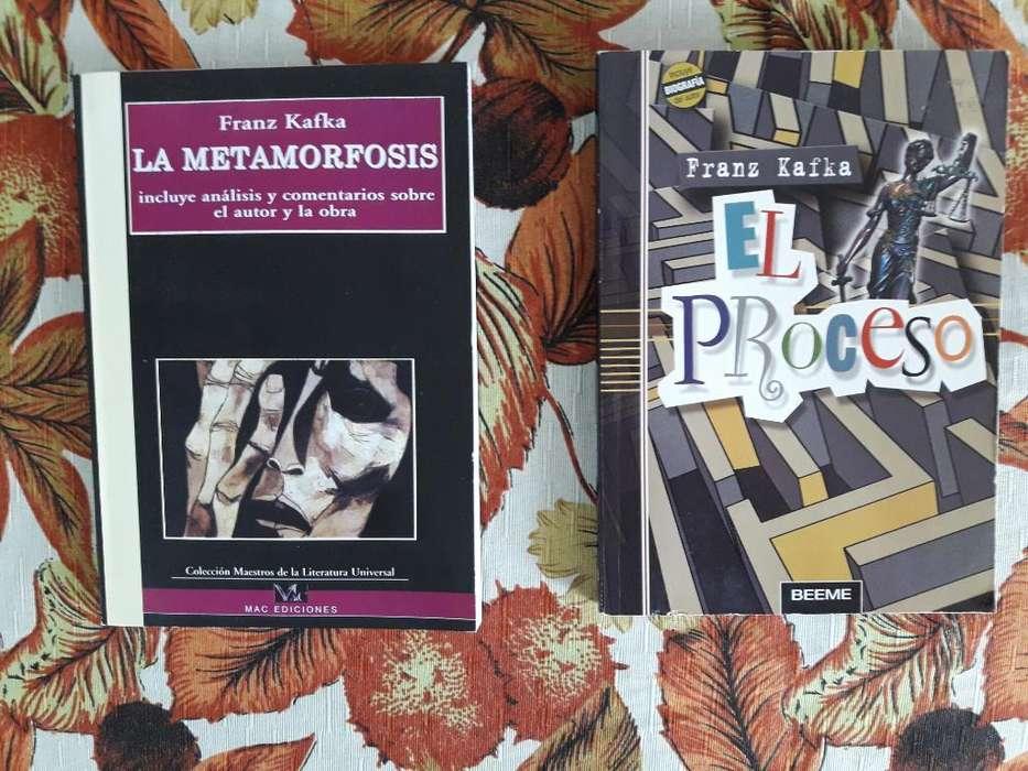El Proceso Y La Metamorfosis de Kafka