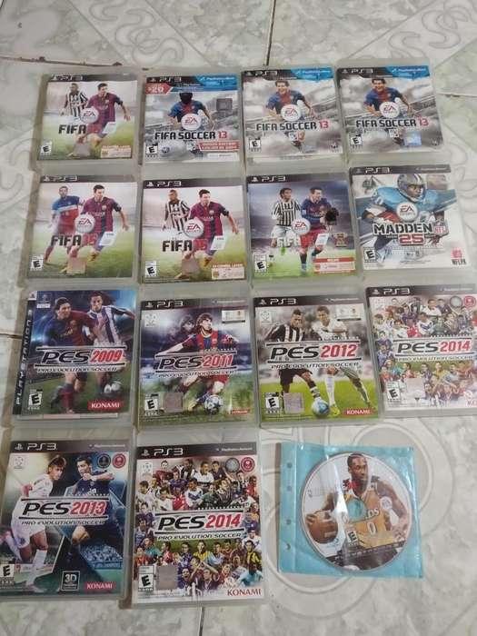 Fútbol Play 3 Ps3 10mil Fifa Pes
