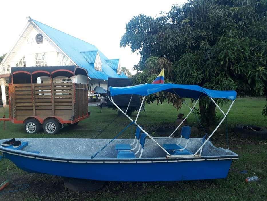 Vendo Bote con Motor