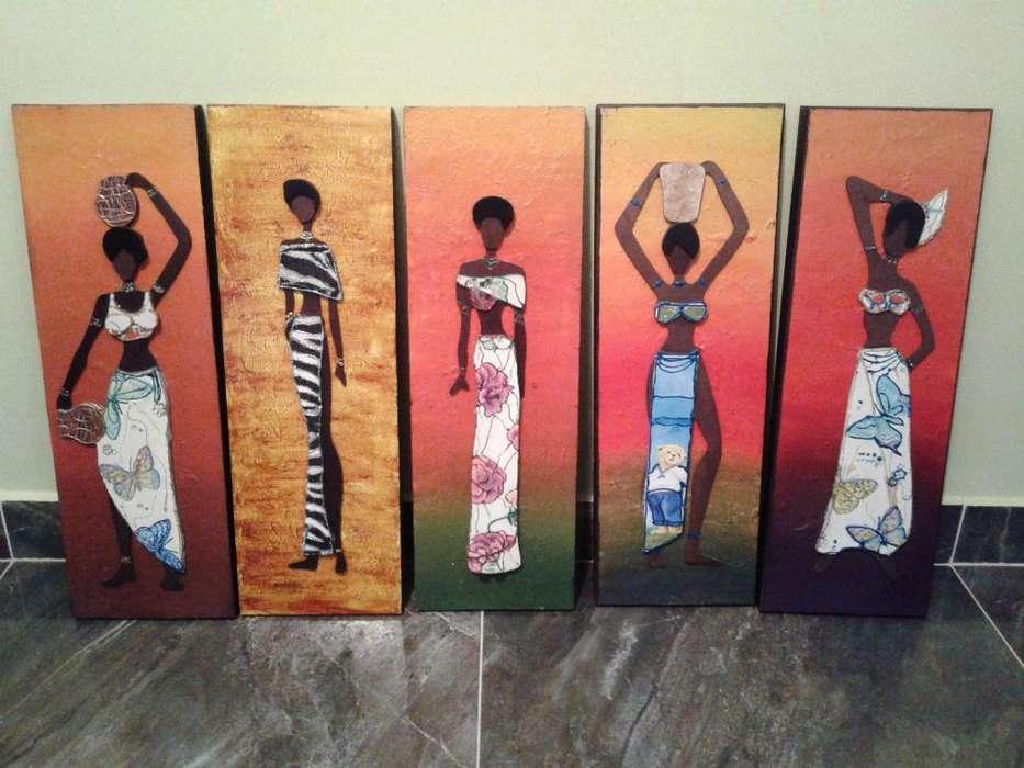 Cuadros Negras Africanas