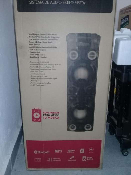 Vendo Torre Musical Jvc Impecable!